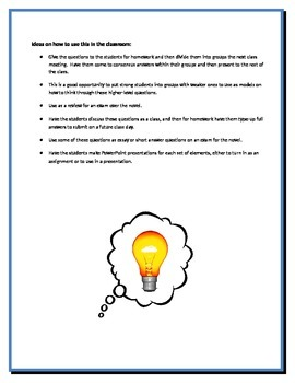 The Outsiders - Hinton - Group Critical Response Questions