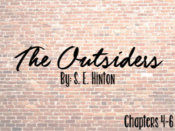 The Outsiders Hyperdoc Chapters 4-6