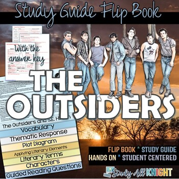 The outsiders plot teaching resources teachers pay teachers the outsiders novel study literature guide flip book fandeluxe Images