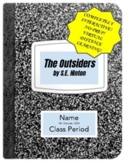 The Outsiders: Interactive Notebook (Virtual/Distance Lear