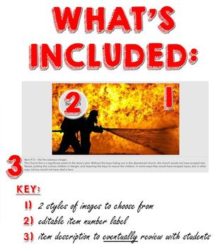 The Outsiders Introduction Activity Anticipation Box