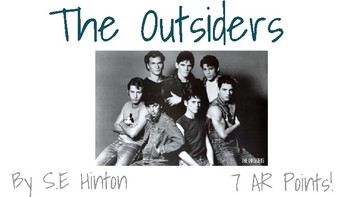 The Outsiders--Introduction/Anticipatory Set