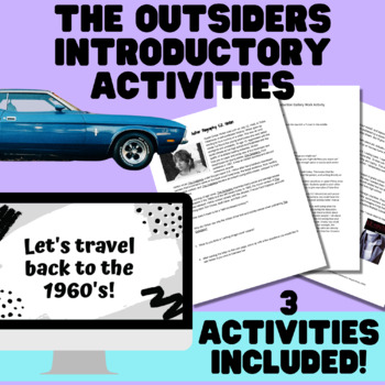The Outsiders Introductory Materials