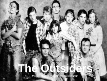 Outsiders - Journal Response Questions - S. E. Hinton