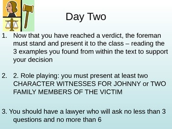 The Outsiders Jury Projects