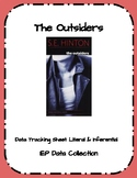 The Outsiders Literal & Inferential Data Tracking Sheet