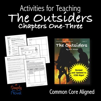 Outsiders Chapters 1-3 {FREE}