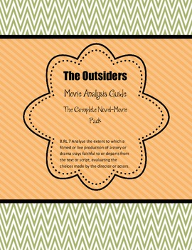 The Outsiders: Movie Viewing Guide Ch1-12
