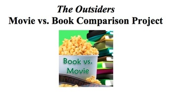 Common core the outsiders teaching resources teachers pay teachers the outsiders movie vs book assignment rl77 fandeluxe Images