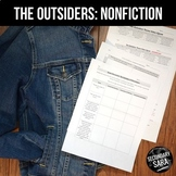 The Outsiders: Non-Fiction Video Jigsaw Activity