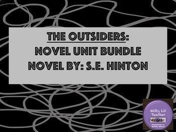 The Outsiders Novel: Bundle