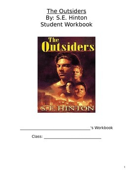 The Outsiders Novel Packet