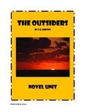 The Outsiders - Novel Study