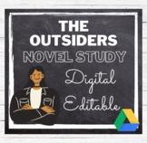The Outsiders Novel Study Common Core Aligned