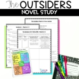 The Outsiders Novel Unit of Vocabulary, Character Charts, Games and Assessments