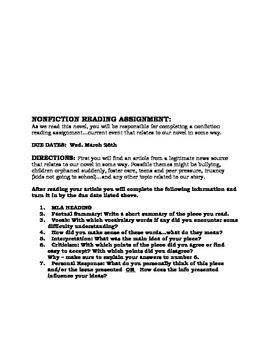 The Outsiders Novel Study -  author study, character chart, themes, symbols etc.