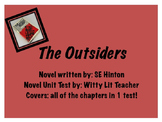 The Outsiders Novel Unit Test