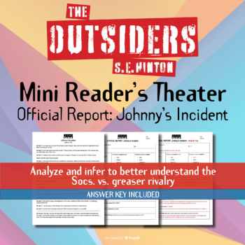 The Outsiders Official Report - Johnny's Incident