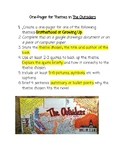 The Outsiders One-Pager