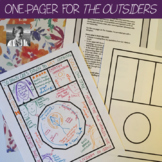 The Outsiders One-Pager Activity