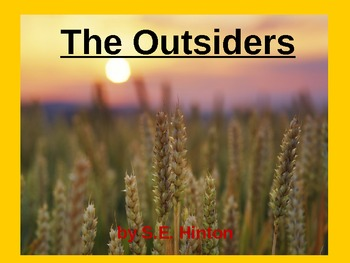 The Outsiders PowerPoint Presentation
