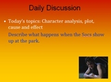 The Outsiders PowerPoint Unit