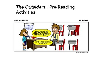 The Outsiders Pre-Reading Activities