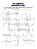 The Outsiders: 50-Word Prereading Crossword—Great Warm-Up for the Book!
