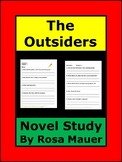 Outsiders Reading Comprehension