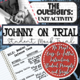 "The Outsiders Novel Study Activity: ""JOHNNY ON TRIAL"" (Stu"