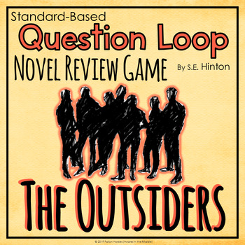 The Outsiders - Question Trail & Loop - Novel Review - Novel Game