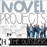 """The Outsiders """"Quick"""" Novel Projects"""