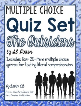 The Outsiders Quiz Set