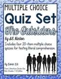 The Outsiders Chapter Quizzes