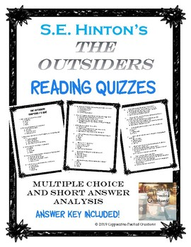 The Outsiders Quizzes