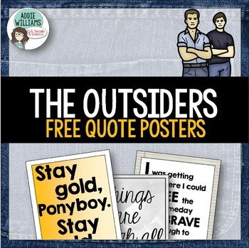 Outsiders - Quote Posters