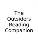 The Outsiders Reading Companion