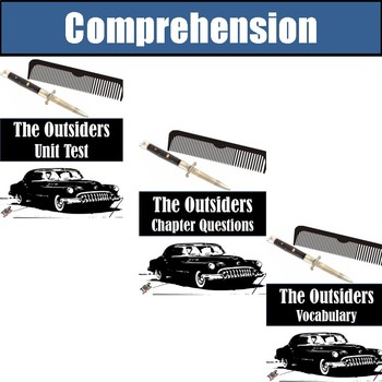The Outsiders S.E. Hinton Activities Bundle