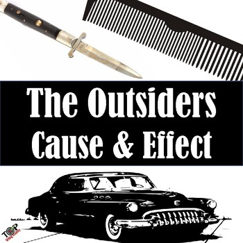 The Outsiders S.E. Hinton Cause and Effect Essay Writing Unit