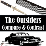 The Outsiders S.E. Hinton Compare and Contrast Writing Unit