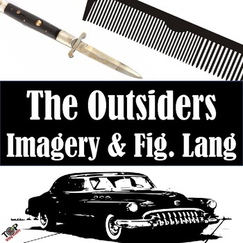The Outsiders S.E. Hinton Imagery and Figurative Language (Mood Tone)