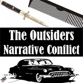 The Outsiders S.E. Hinton Narrative Internal External Conflict