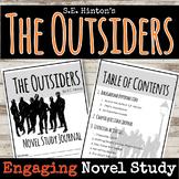 The Outsiders - S.E. Hinton - Novel Companion - Student Workbook - Creative