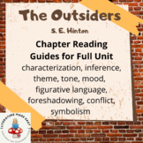 The Outsiders - Reading Guides - Common Core Skills Based Packet