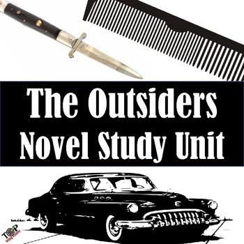 The Outsiders S.E. Hinton Unit Novel & Literature Study Guide