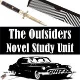 The Outsiders Unit Novel & Literature Study Guide S.E. Hinton