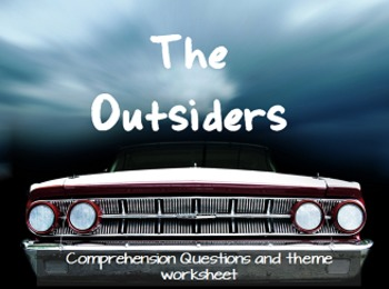 'The Outsiders' S.E. Hinton