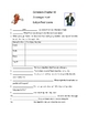 Outsiders Scavenger Hunt and Crossword Puzzle Packet