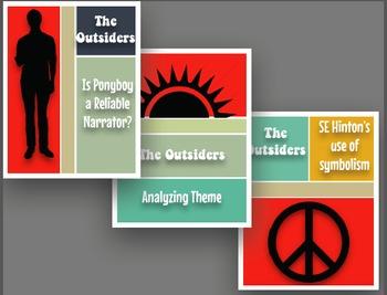 The Outsiders Essay Bundle-3 CCSS aligned Informative Essa