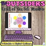The Outsiders Timeline Activity for the Death of Soc Bob i